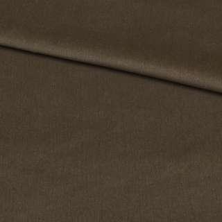 Велюр стрейч коричнево-серый, ш.160
