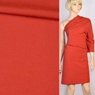Вискоза костюмная красная, ш.156