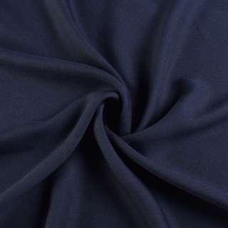 Креп вискозный синий ш.150