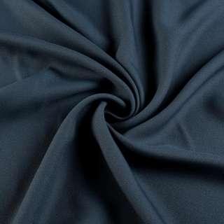 Креп вискозный серый маренго темный ш.150