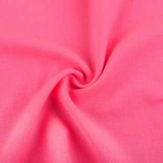 Креп вискозный розовый неон, ш.145