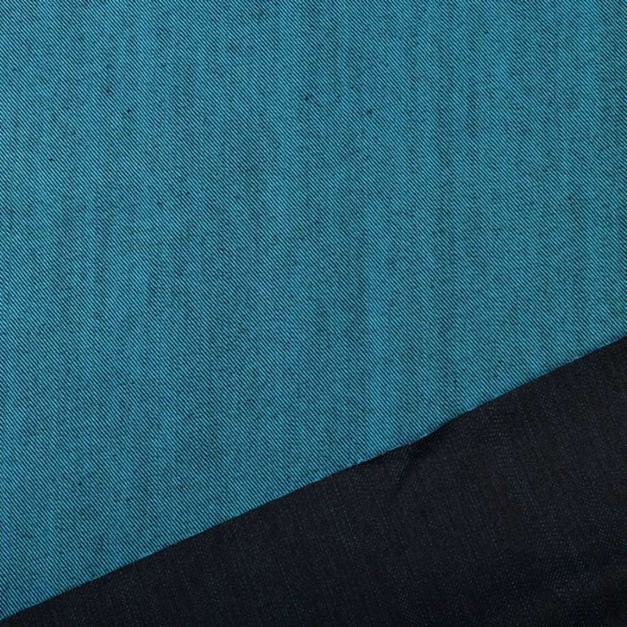 Джинс синий темный/бирюзовый ш.160