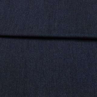Джинс стрейч синий темный, ш.155