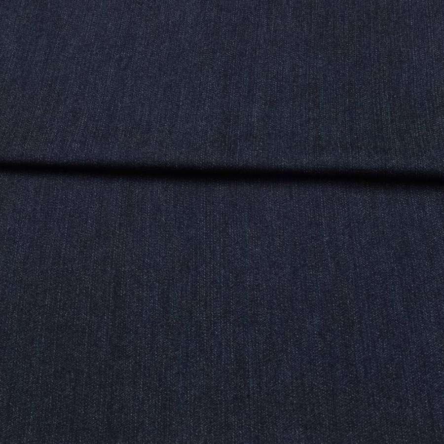 Джинс стрейч синій темний, ш.155