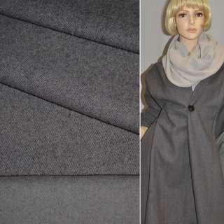 Тканина костюмна сіра Німеччина ш.156