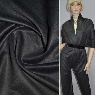 Шерсть костюмна темно-сіра ш.145