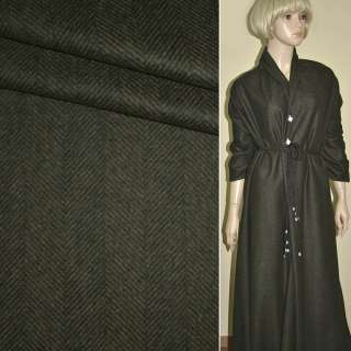 "Тканина костюмна коричнева (ялинка) ""PHILIPP"" Німеччина ш.157"