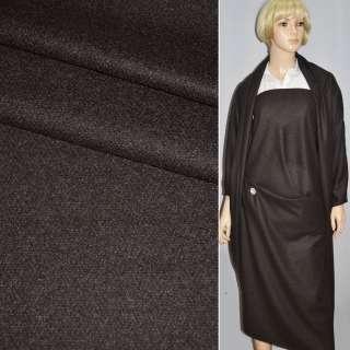 Тканина костюмна коричнево-сіра з кашеміром CERRUTI італія ш.153