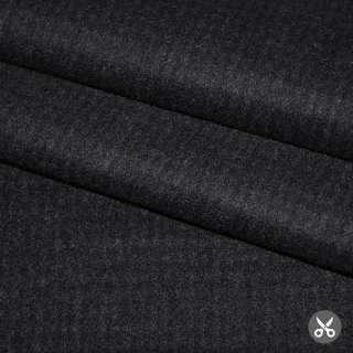 Ткань костюм. черная в мелкую клетку JOOP Германия ш.158