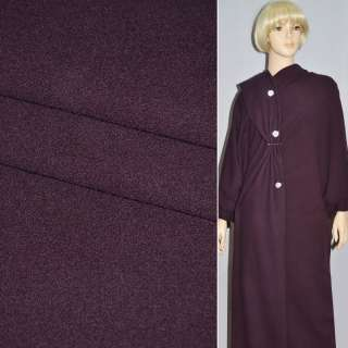 Тканина костюмна темно-бузкова STRELLSON швейцария ш.154