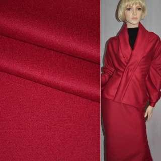 Тканина костюмна червона PIACENZA італія ш.154