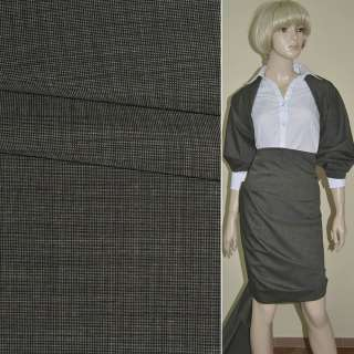 Ткань костюмная серая италия ш.156