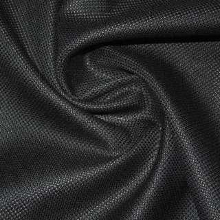 Ткань костюмная черная, ш.150