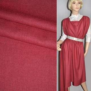 Ткань костюм. вишневая Германия ш.150