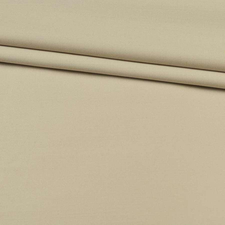 Ткань костюмная бежевая светлая, ш.150