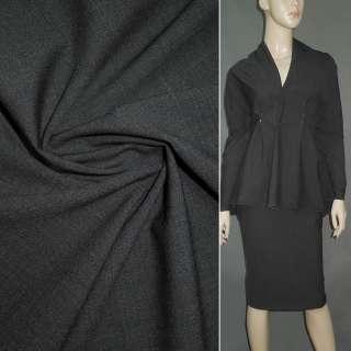 Тканина костюмна стрейч сіра ш.159