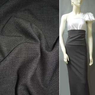 Ткань костюмная коричневая ш.152