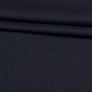 Ткань костюмная креп синяя темная, ш.150