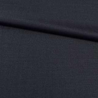 Ткань костюмная синяя темная, ш.157