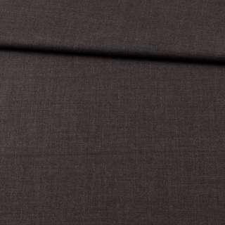 Шерсть стрейч костюмная серая темная ш.155