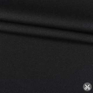 """Шерсть с полиэстром и эластаном костюмная """"CERRUTI"""" черная ш.145"""
