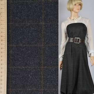 "Шотландка вовняна ""GERRY WEBER"" чорна в коричневу клітку ш.155"