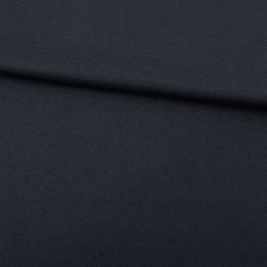 Шерсть костюмная стрейч зелено-черная ш.155