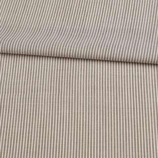 Шерсть тонкая в бежево-коричневую полоску ш.158