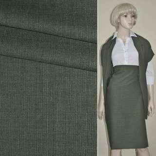 Ткань костюмная серая Германия ш.155