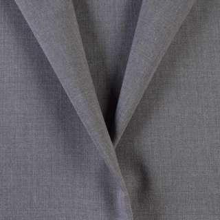 Тканина костюмна сіра, ш.155
