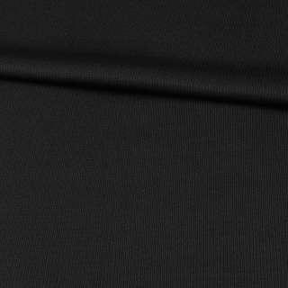 Шерсть костюмная черная в светлую точку, ш.160