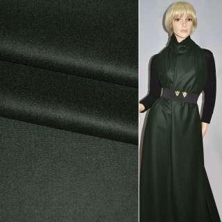 Тканина костюмна темно-зелена Німеччина ш.152