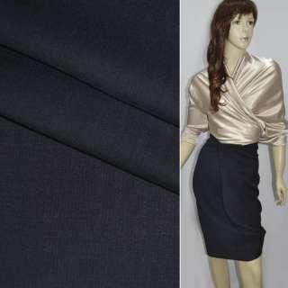 """Ткань костюмная сине-черная """"PHILIPP"""" Германия ш.156"""