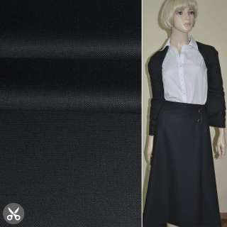 "Ткань костюмная темно-синяя ""PHILIPP"" Германия ш.158"
