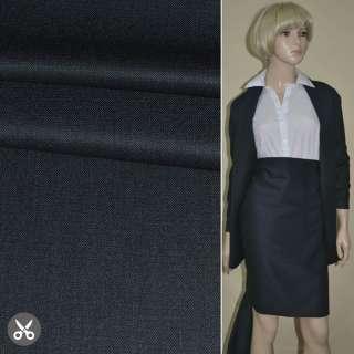 "Ткань костюмная темно-синяя ""PHILIPP"" Германия ш.155"