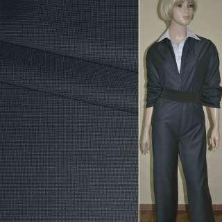 """Ткань костюмная сине-серая """"PHILIPP"""" Германия ш.152"""