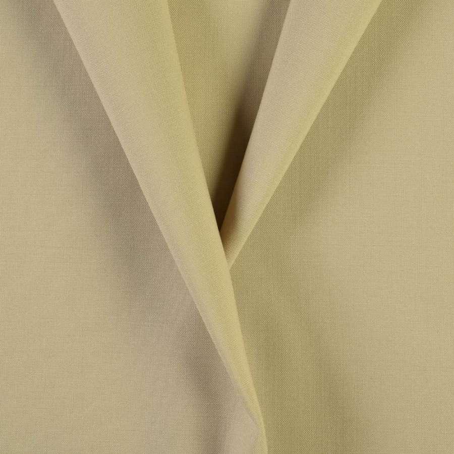 Тканина костюмна бежево-пісочна, ш.154
