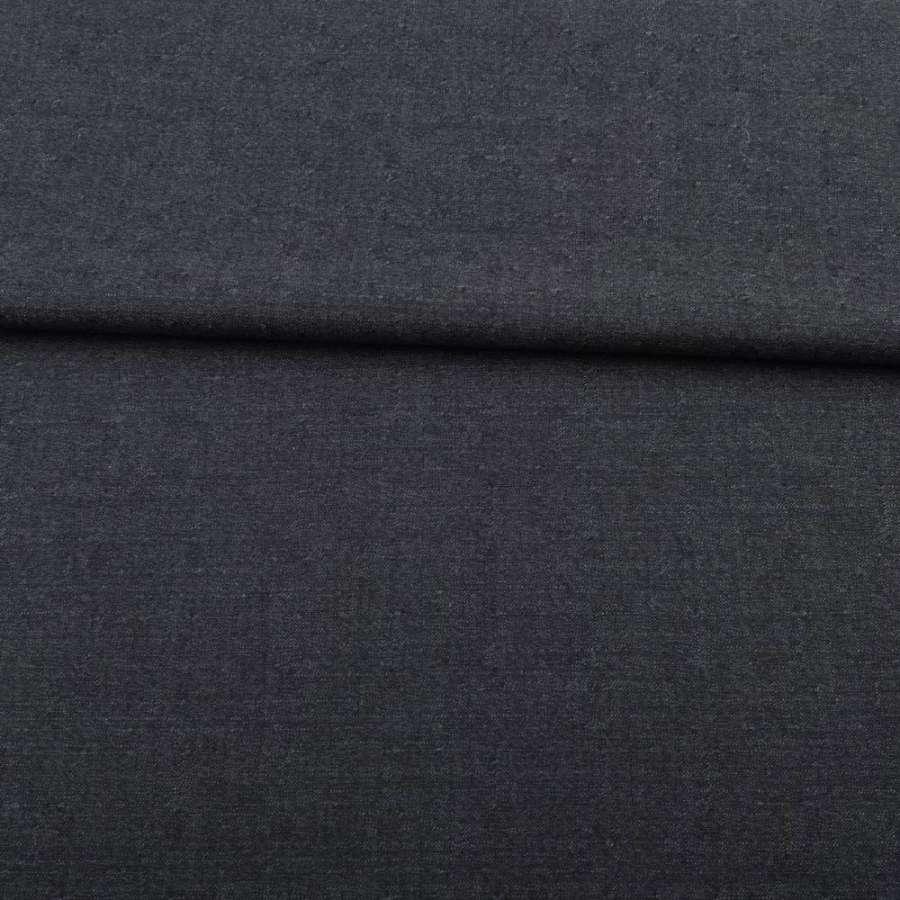 Шерсть сіро-синя з рисками ш.150