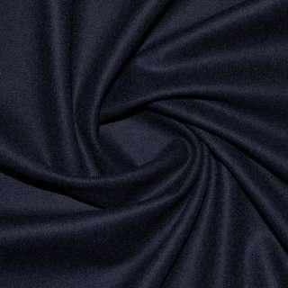 Тканина костюмна стрейч синьо-чорна Німеччина ш.150