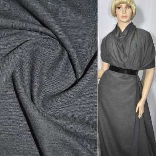Тканина костюмна сіра, ш.150