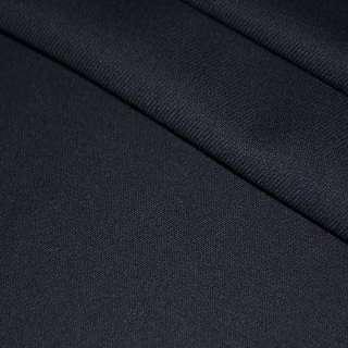 Тканина костюмна темно-синя однотонна, ш.140