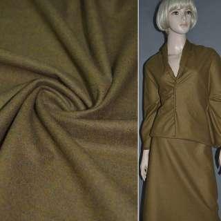 Шерсть костюмна коричнева світла ш.156