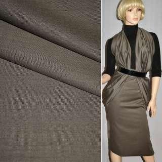 Тканина костюмна сіро-бежева CERRUTI італія ш.160