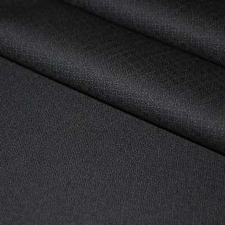 Шерсть костюмна чорна ш.150