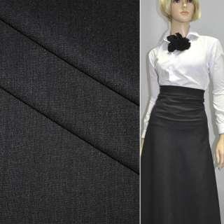 Тканина костюмна чорна (HUGO BOSS), ш.150