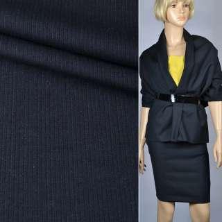 Тканина костюмна темно-синя (HUGO BOSS), ш.150