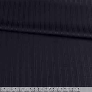 Тканина костюмна чорна в подвійну смужку (HUGO BOSS), ш.148