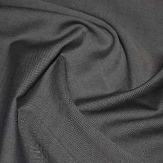 Тканина костюмна коричнево-чорна (HUGO BOSS), ш.156
