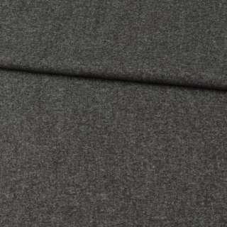 Кашемир шерстяной костюмный серый темный ш.150