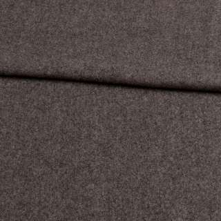 Твид шерстяной мягкий костюмный серый темный, ш.155